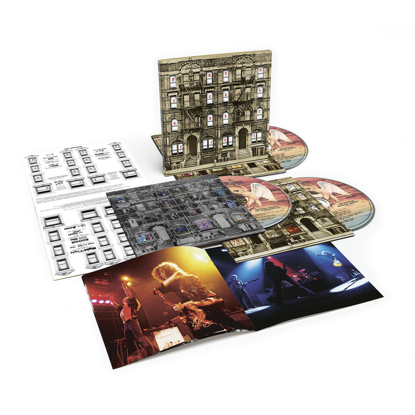 Physical Graffiti - Deluxe CDs